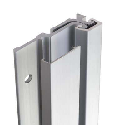 FS Continuous Geared Aluminium Hinges - Full Surface Hinge