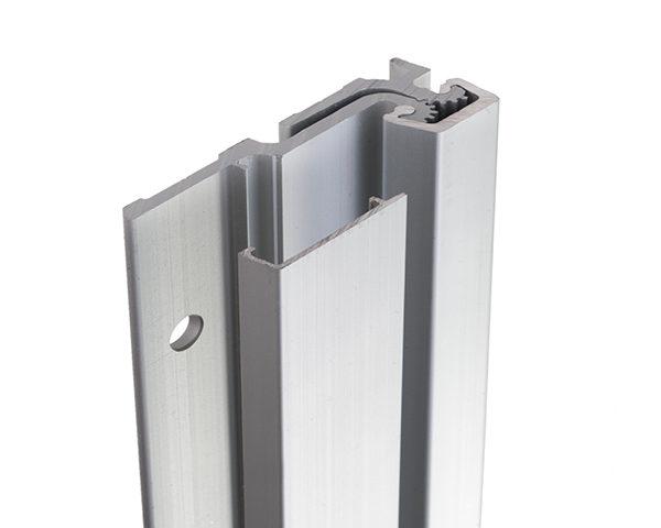 FS Continuous Geared Aluminium Hinges - Full Surface Hinge