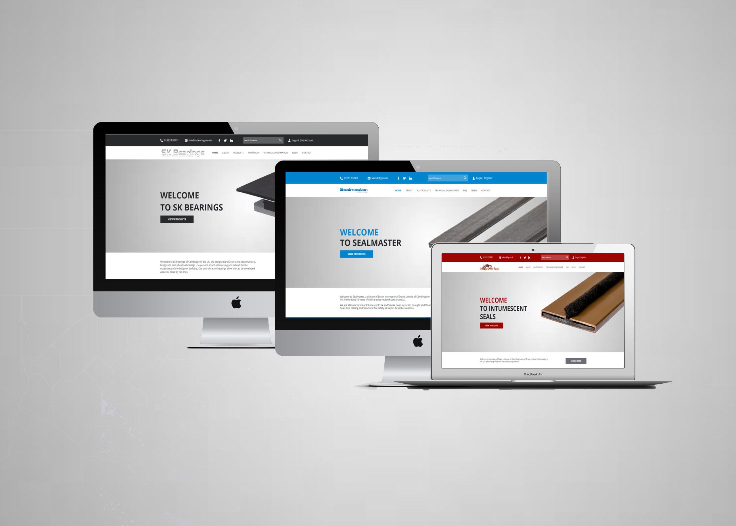 Sealmaster New Website Examples