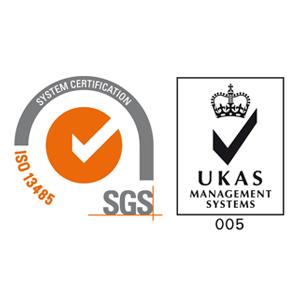 SGS and UKAS Ceritification